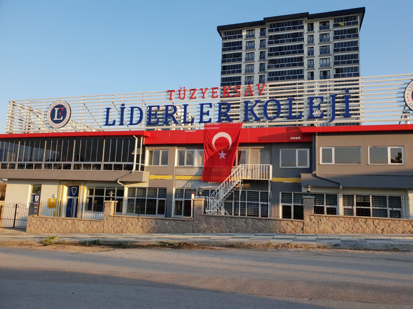 TÜZYEKSAV Liderler Koleji Eryaman'da açılıyor.
