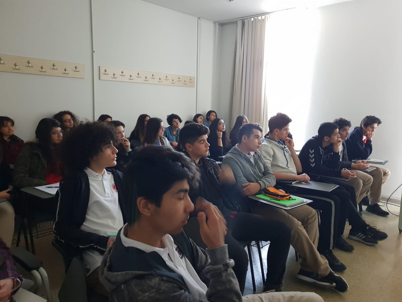 TÜZYEKSAV Liderler Fen Lisesi Öğrencilerimiz ODTÜ Fizik Bölümü'nde