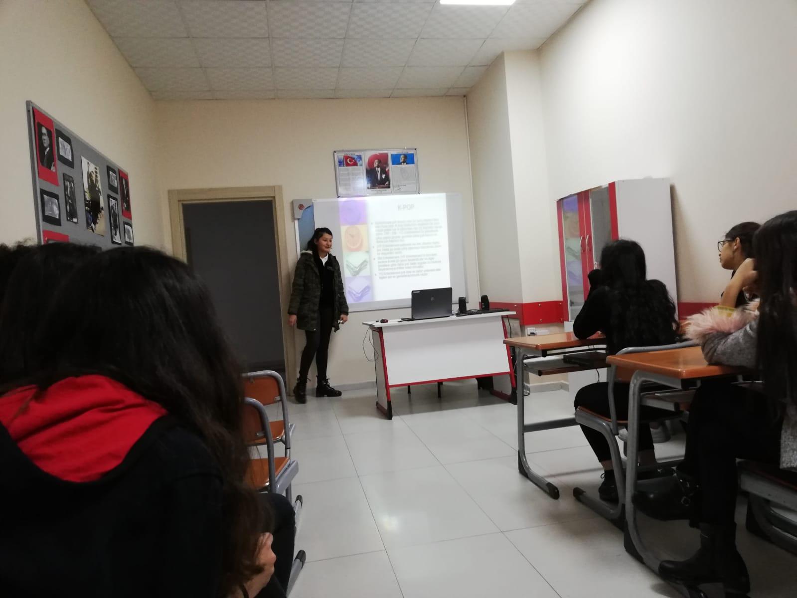 Öğrencilerimizden Kore Tanıtımı