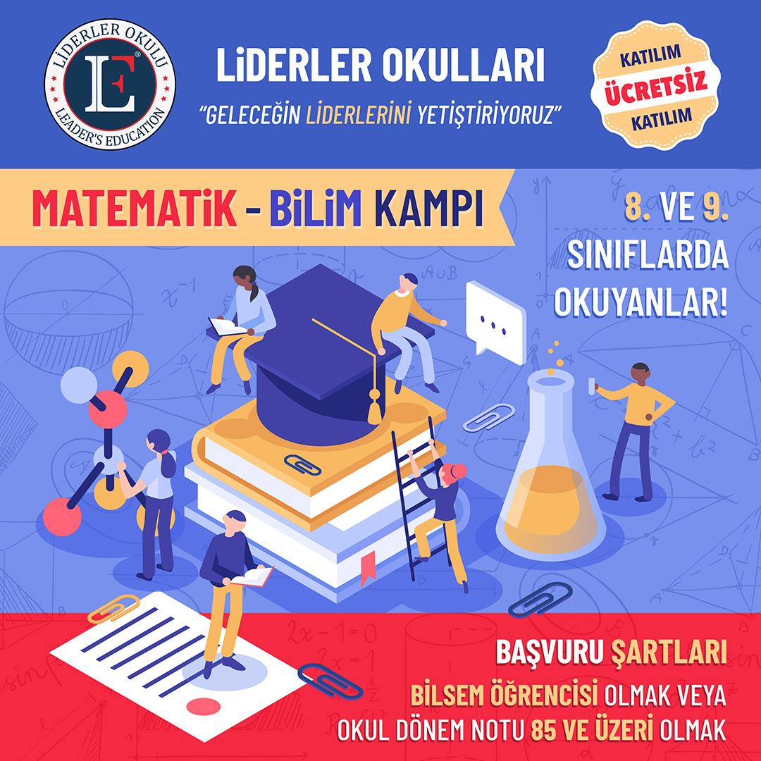 TÜZYEKSAV Liderler Okulları Matematik Bilim Kampı Başvurusu