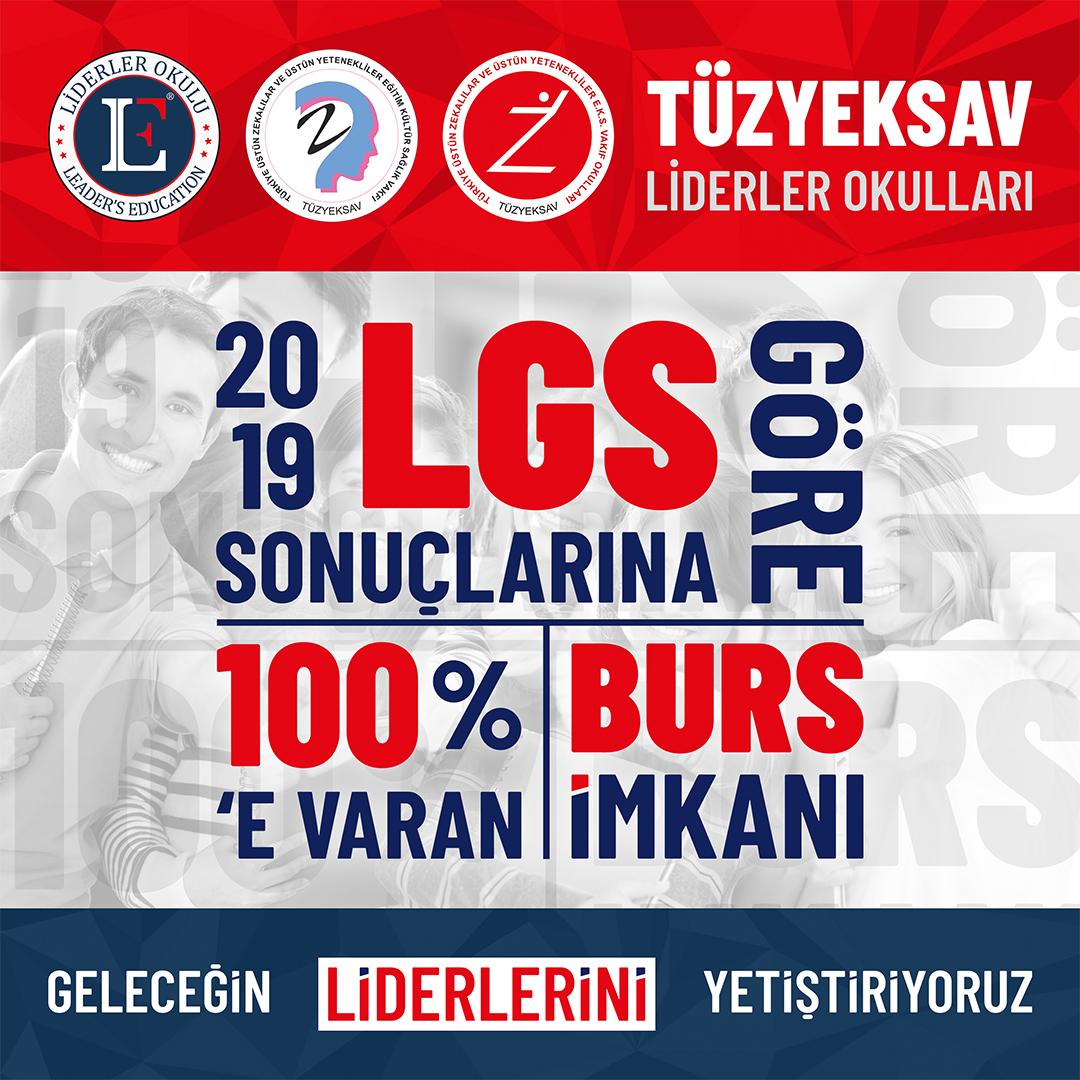 LGS Sonuçlarına Göre %100'e Varan Burs İmkânı